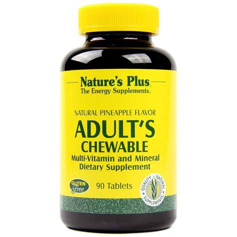 Multivitamin Plus nature s plus s multi vitamin chewable pineapple