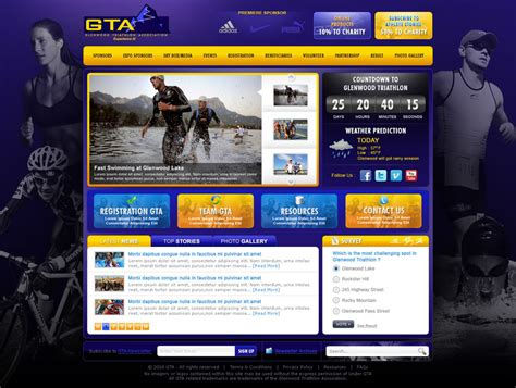 gta website homepage by treecore on deviantart