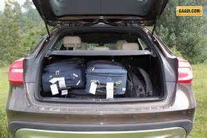 Mercedes Gla Boot Space Mercedes Gla Class Drive Gaadi