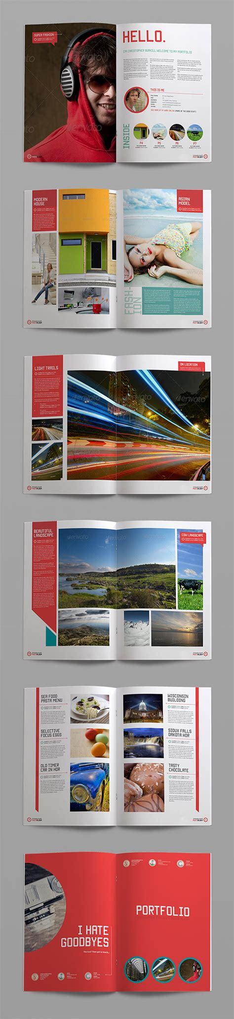 template indesign portfolio free sleek photo album indesign portfolio template crs