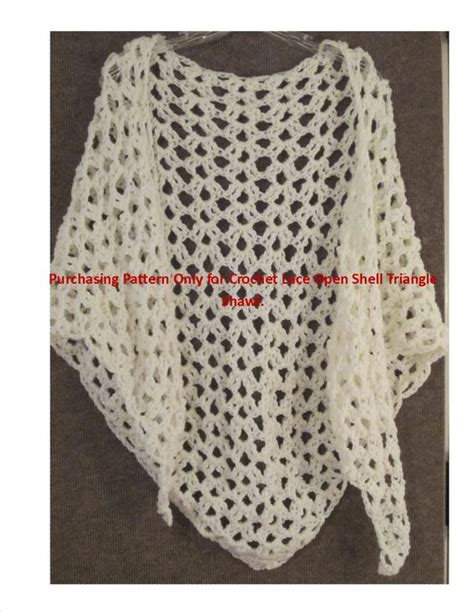 triangle lace pattern crochet triangle shawl and lace shawls on pinterest