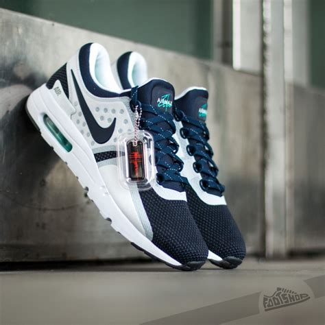 Nike Airmax Zero White Navy nike air max zero qs white midnight navy footshop