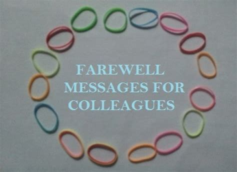 messages for coworkers farewell message to colleague leaving the company holidappy