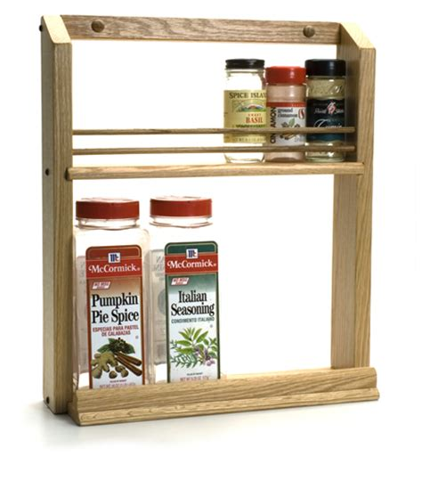 Single Shelf Spice Rack by Wooden Spice Racks By Tumbleweed Woodworks
