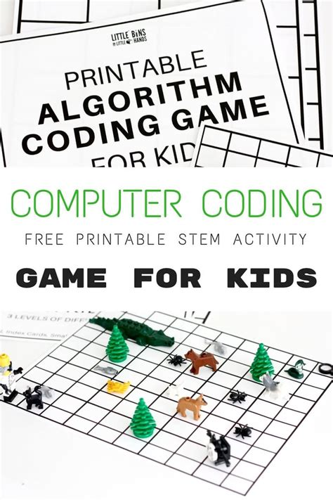 activity for algorithm coding and computer coding for free