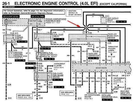 2006 ford ranger wiring diagram wiring diagram and