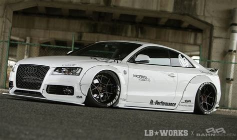 Liberty Walk develops crazy wide kit for Audi A5 PerformanceDrive