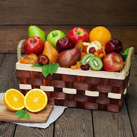 Superb Christmas Food Gift Baskets #2: Simply-fruit-basket-110300_4.jpg