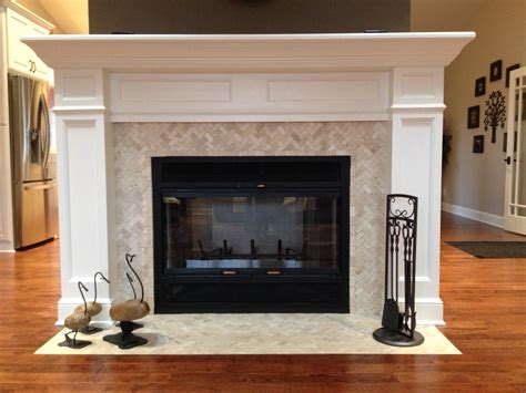 fireplace and hearth herringbone mosaic fireplace surround and hearth subway tile outlet
