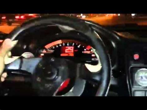 99 honda civic turbo ek sedan s2000 cluster youtube