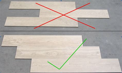 layout for large format tile tile pattern guide