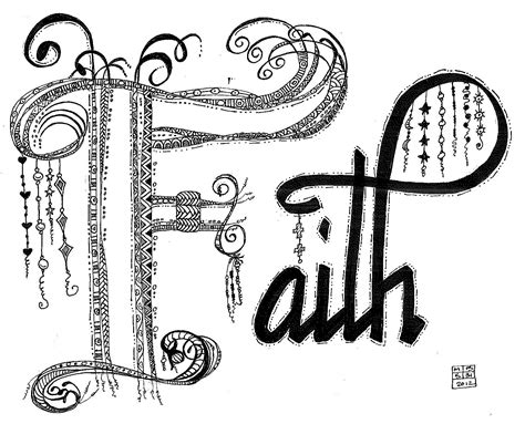 doodle name faith molly bee s attic keep the faith