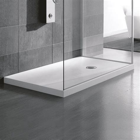 corian thickness corian shower tray hafro corian 174 showers trays showers