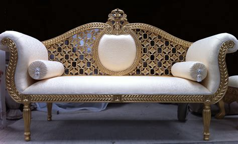 ornate couch princess royal wedding set hshire barn interiors