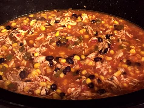 slow cooker recipes chicken tortilla soup