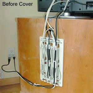 Enclosed Computer Desk Wiremate Cord Organizer Wire Mate Cable Organizer