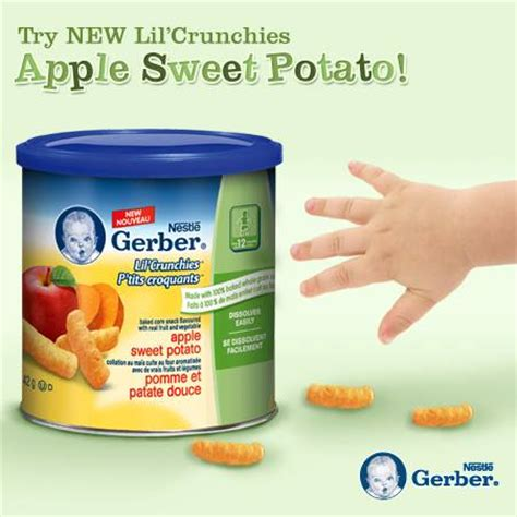 Free Baby Giveaways Canada - gerber canada facebook giveaway win a free prize pack of gerber baby snack products