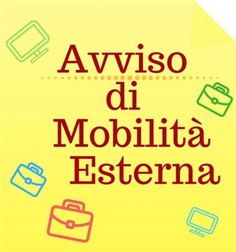avviso mobilità esterna bando mobilita volontaria esterna istruttore direttivo