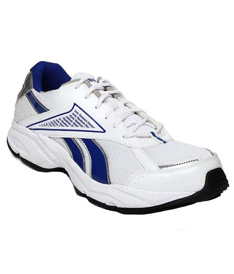 reebok white and blue sport shoes price in india buy