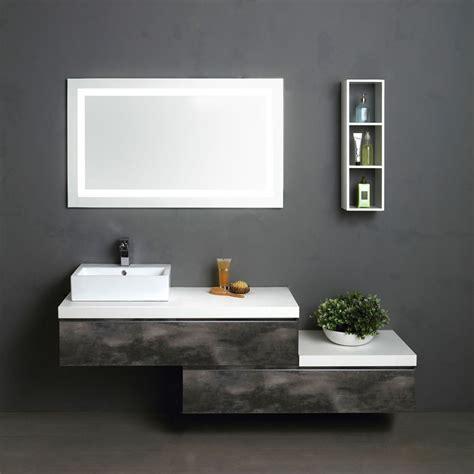 mobile bagno componibile mobile componibile sospeso 180 cm lavabo quadrato kv store