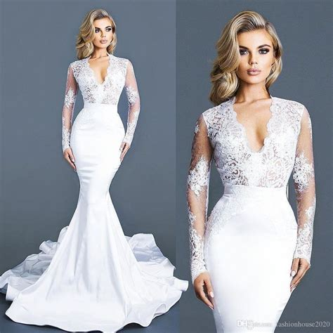 Best 25  Mermaid wedding dresses ideas on Pinterest   Lace