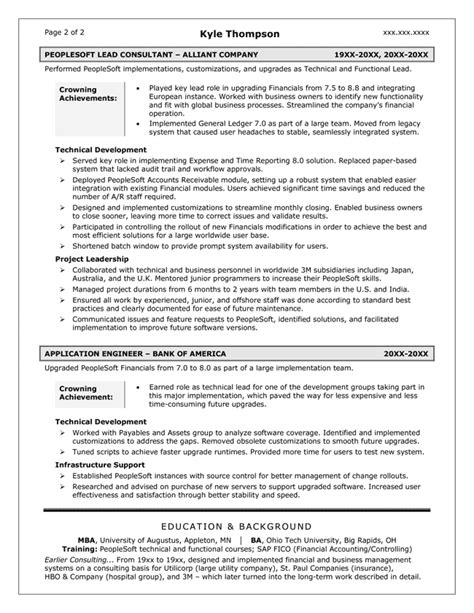 It Strategist Sle Resume by Resume Sles Exles Brightside Resumes