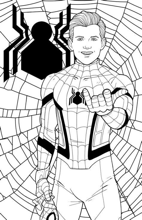 spider man  jamiefayx spiderman coloring avengers