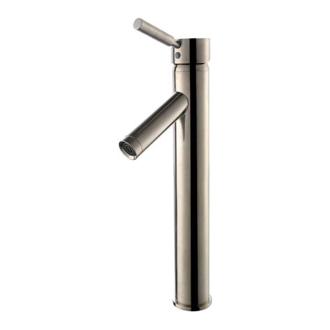 kraus bathroom faucets kraus sheven vessel bathroom faucet