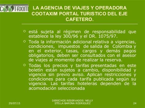 cambios a la ley 180 de vacaciones boletin laboral cootaxim portal tur 205 stico del eje cafetero destino reserva