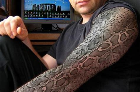 3d snakes on tattoos photo gallery