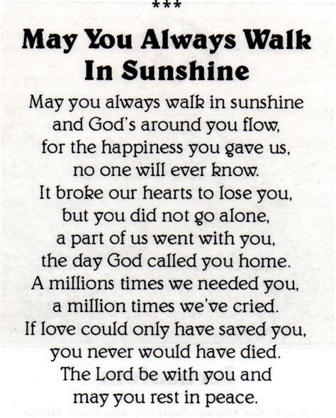 funeral poems memorial poems to read at a funeral free 17 best images about poems on pinterest mom my best