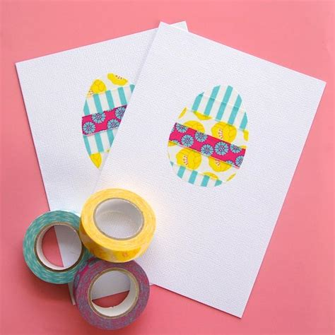 cards to make at home diy easter card ideas to make at home