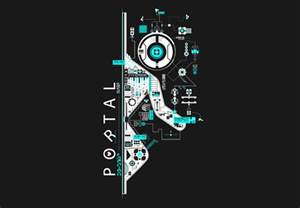 portal 2 abstract by brunobps on deviantart