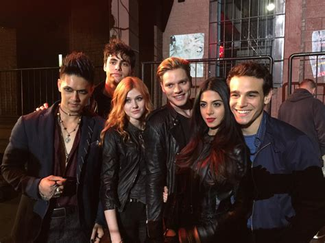The Tv Show by Shadowhunters Tv Show Shadowhunters On Set