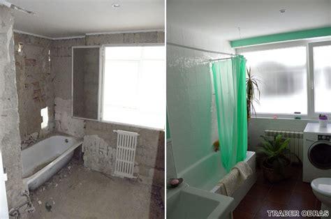 3 banos antes y despues obras foto cuarto de ba 241 o antes y despu 233 s de reforma de