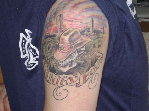 country boy tattoo designs 13 country tattoos on shoulder