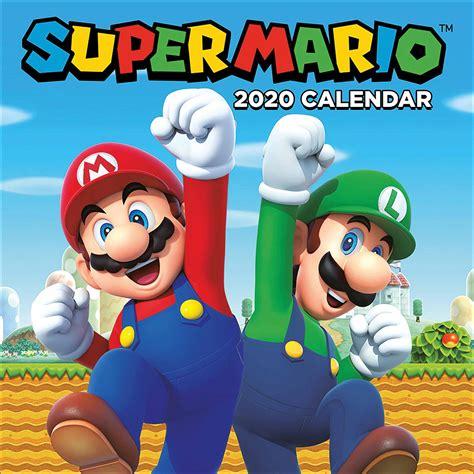 nintendo super mario official calendar   calendar club