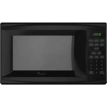 whirlpool mt4078spb 0 7 cu ft countertop microwave oven