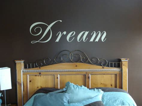 word art for bedroom walls dream vinyl wall design