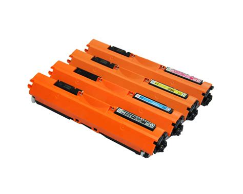 Toner Cf350a 4 color set of toner cartridges part cf350a cf351a