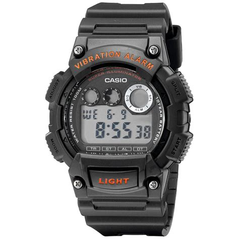Casio W735h casio s viabration alarm multi function chrono digital