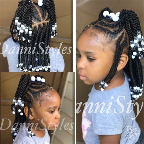 popular children s hairstyles in france box braids cornrows beads natural hairstyles for kids hair