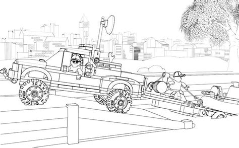 coloring page lego police lego coloring page 60045 police patrol lego pinterest