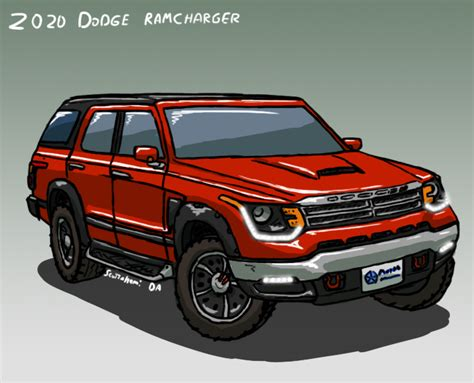 Dodge Charger 2020 Concept by 2020 Dodge Ramcharger Concept By Scottahemi On Deviantart