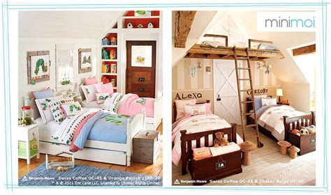 boy girl bedroom ideas shared rooms boys and girls minimoi