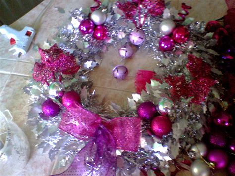 cadenas navideñas 2017 esferas decoradas navideas esfera de unisel decorada con