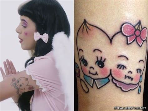 melanie tattoo designs melanie martinez s 35 tattoos meanings style