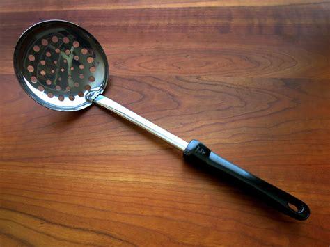 Slotted Spoon Import Quality Spatula Masak stainless steel skimmer 12 quot zebra thailand importfood
