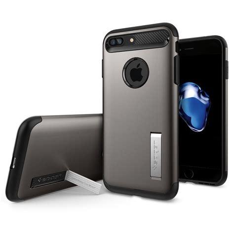 Spigen Slim Armor Apple Iphone 7 Plus 55 Gold spigen slim armor skal till apple iphone 7 plus gunmetal themobilestore