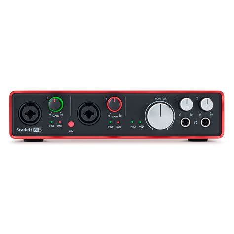 Focusrite Studio 2nd Soundcard Audio Interace focusrite 6i6 2nd 171 audio interface
